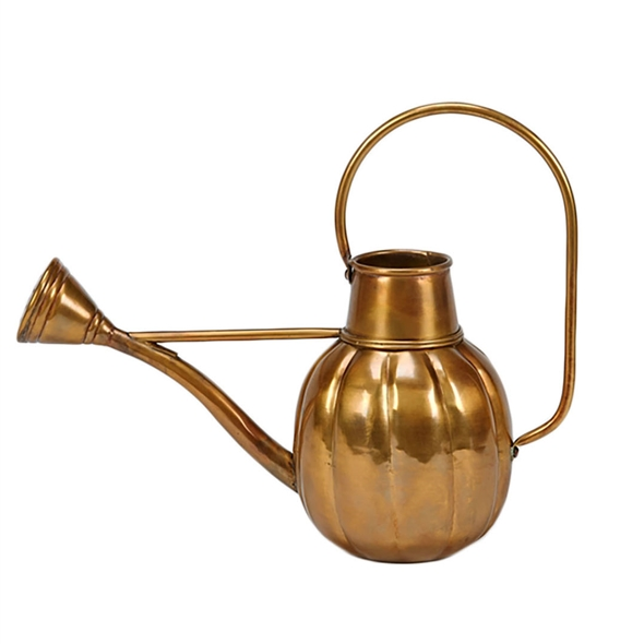 #24319 Pumpkin Watering Can - Brass