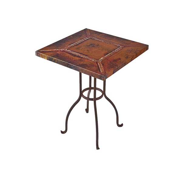 "#22340 Napa Cafe Table - Square (25x25x30"")"