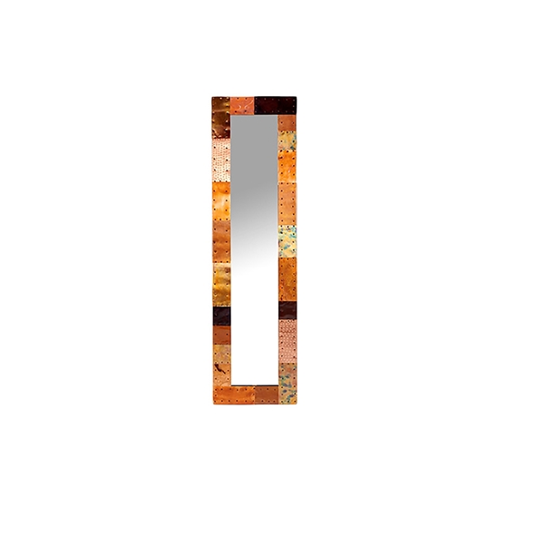 #23007  Copper Patch Mirror - 15x55""