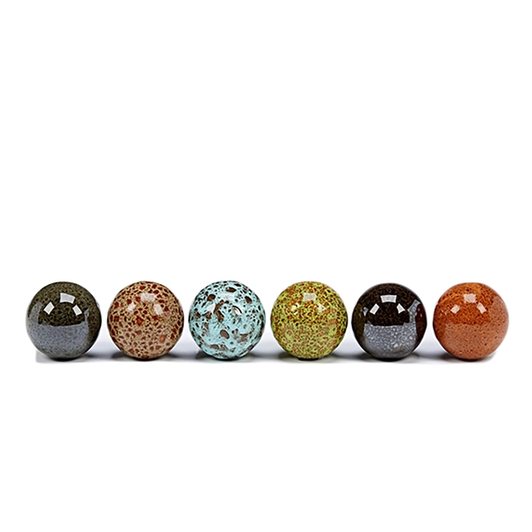 #23502 Small Ceramic Balls Set of 6