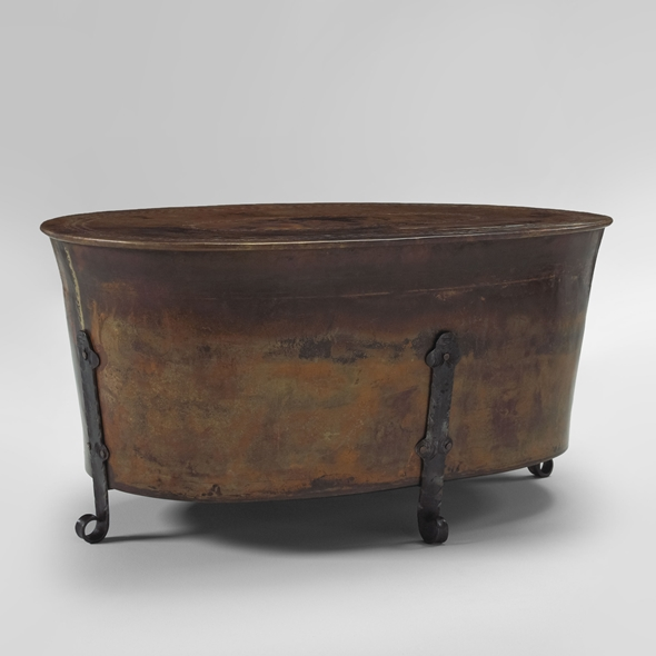 "#22309 Cauldron Table - Oval (40x24x19"")"