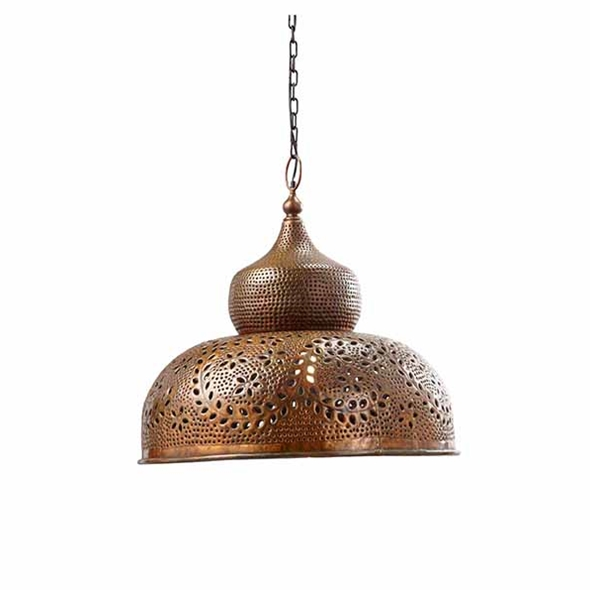 #27102 Topkapi Hanging Light - Copper