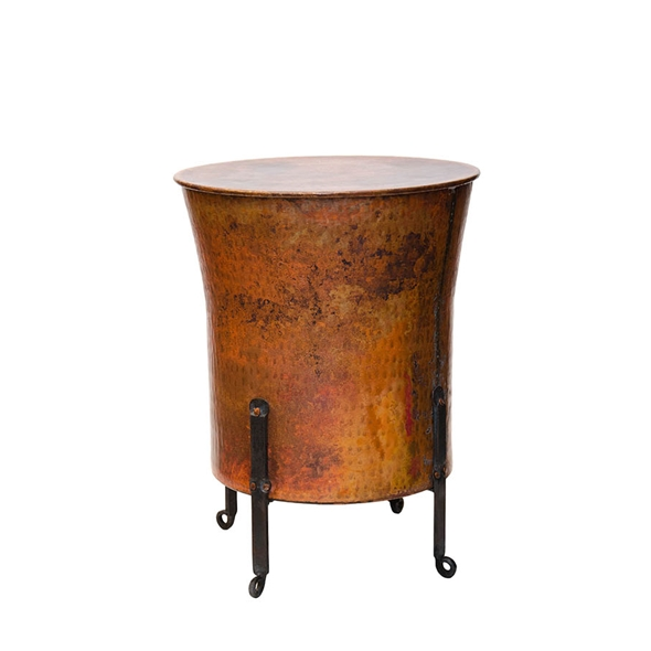 "#22371 Cauldron Table - Round (21x28"")"